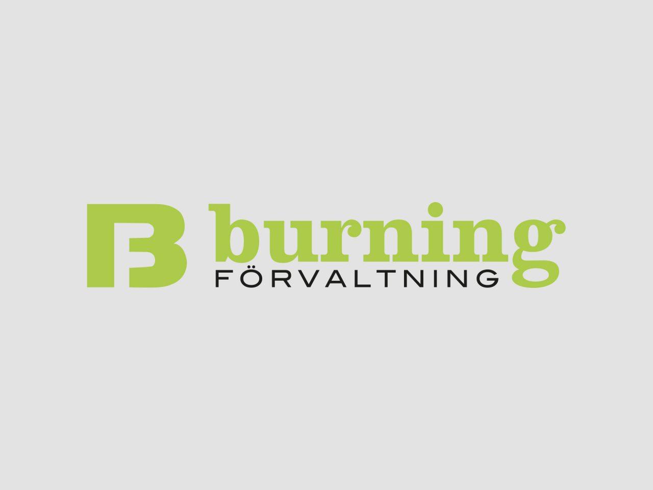 Burning förvaltning - logotyp